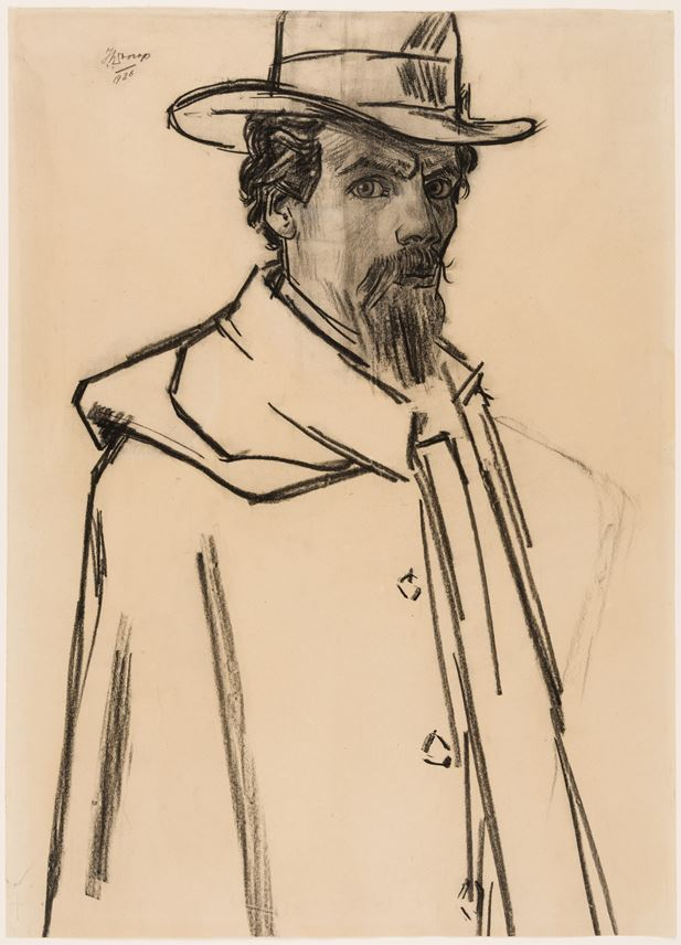 Jan Toorop - Portrait of the Artist Lambert Lourijsen | MasterArt